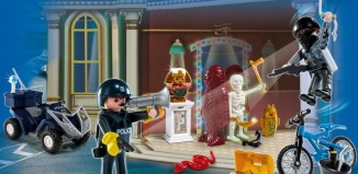 Playmobil - 4168 - Advent Calendar Police with cool additional surprises