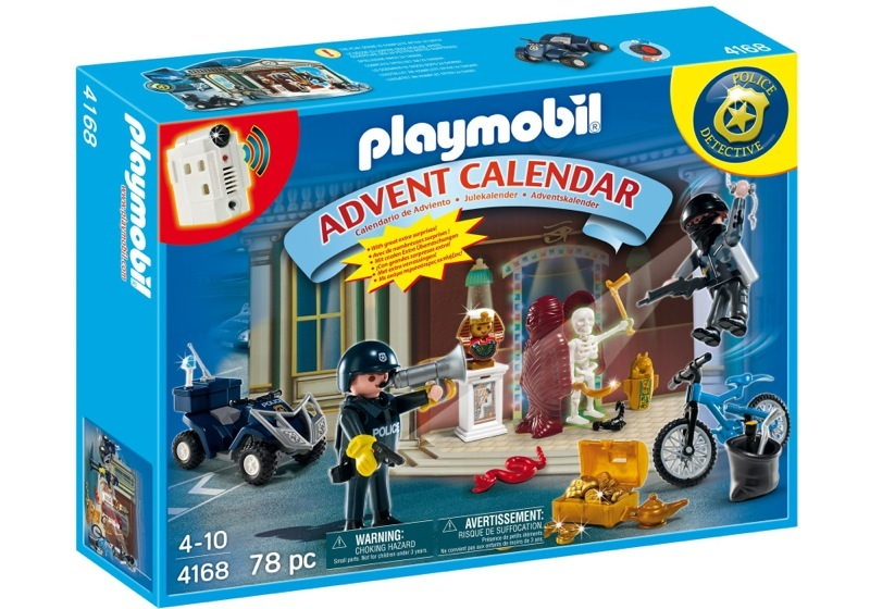 Playmobil 4168 - Advent Calendar Police with cool additional surprises - Box