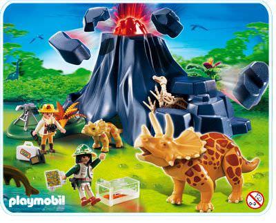 playmobil vulkan anleitung
