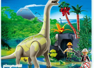 Playmobil - 4172 - Brachiosaurus