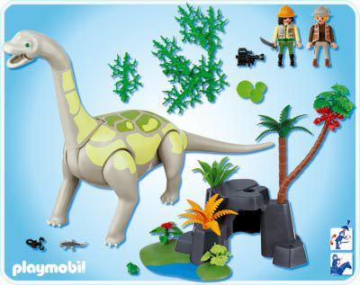 Playmobil 4172 - Brachiosaurus - Volver