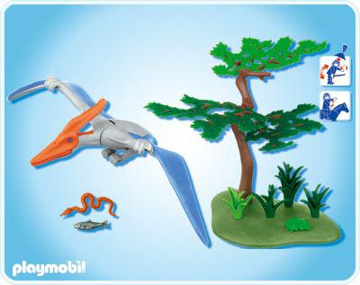 Playmobil 4173 - Pteranodon - Back