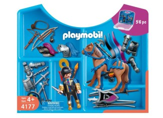 Playmobil - 4177 - Knight Carrying Case
