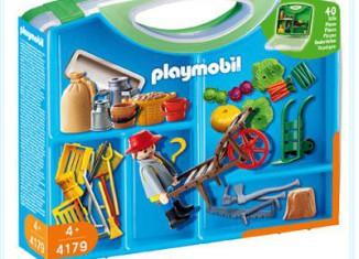 Playmobil - 4179 - Farmer Carrying Case