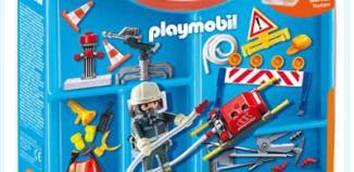 Playmobil - 4180 - Fireman Carrying Case