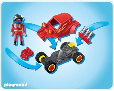 Playmobil 4184 - Red Racer - Back