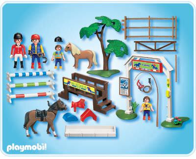 Playmobil 4185 - Dressage - Back