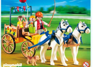 Playmobil - 4186 - Horse wagon