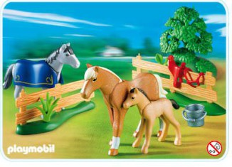 Playmobil - 4188 - Horses with foal