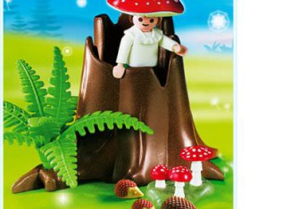Playmobil - 4194 - Tree Stump with Fairy