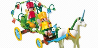 Playmobil - 4195 - Carriage with Unicorn