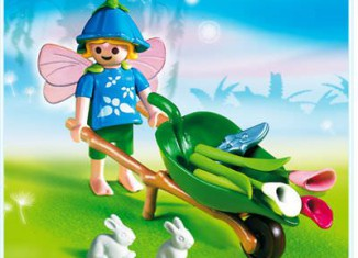 Playmobil - 4196 - Flower Wheelbarrow