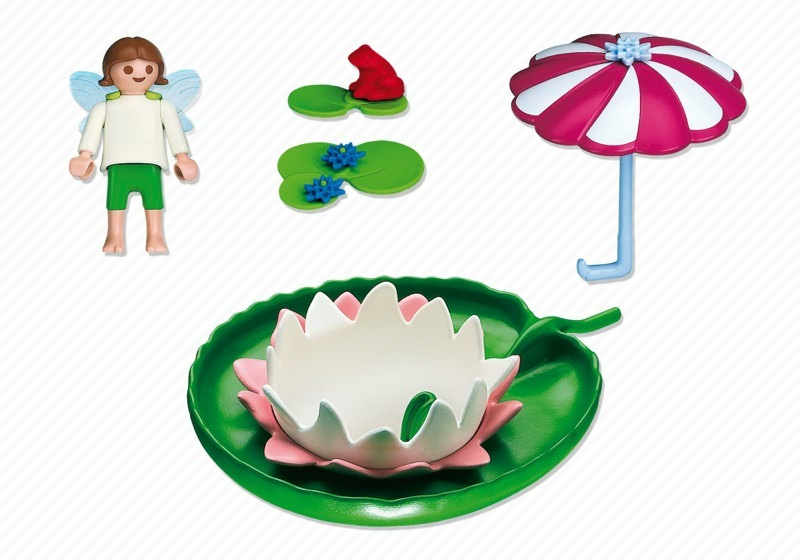 Playmobil 4198 - Water Lily - Back