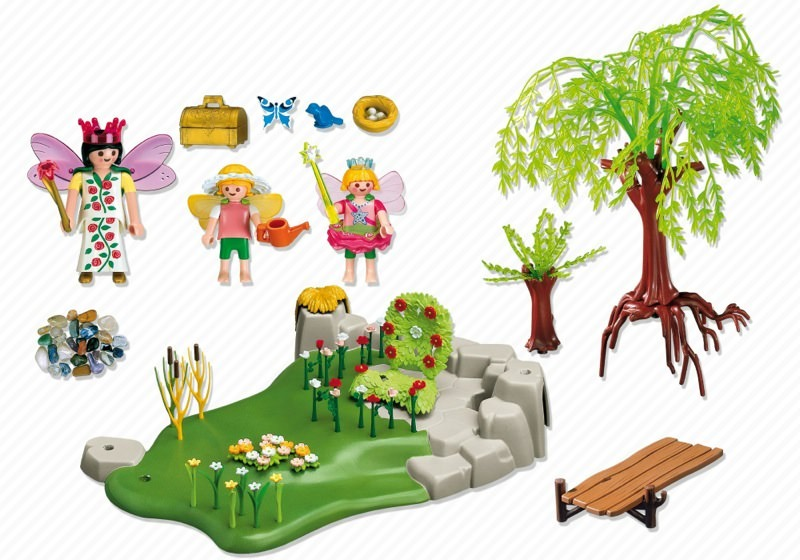 Playmobil 4199 - The Fairy Garden - Back