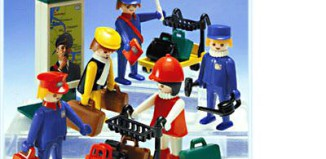 Playmobil - 4200v1 - Train Travellers