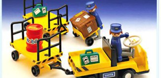 Playmobil - 4201v1 - Baggage Carts & Truck