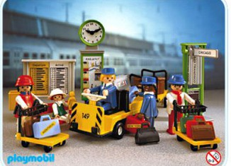 Playmobil - 4202v1 - Train Travellers