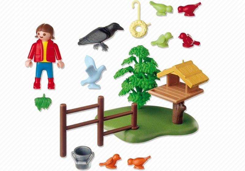 Playmobil 4203 - Bird Feeder - Back
