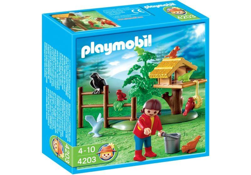 Playmobil 4203 - Bird Feeder - Box