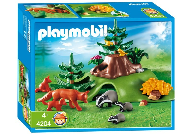 Playmobil 4204 - Forest Animals with Cave - Box