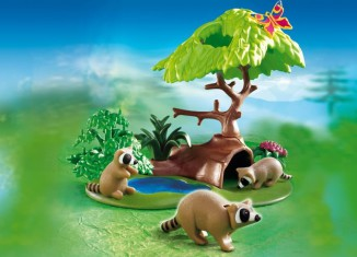 Playmobil - 4205 - Raccoons