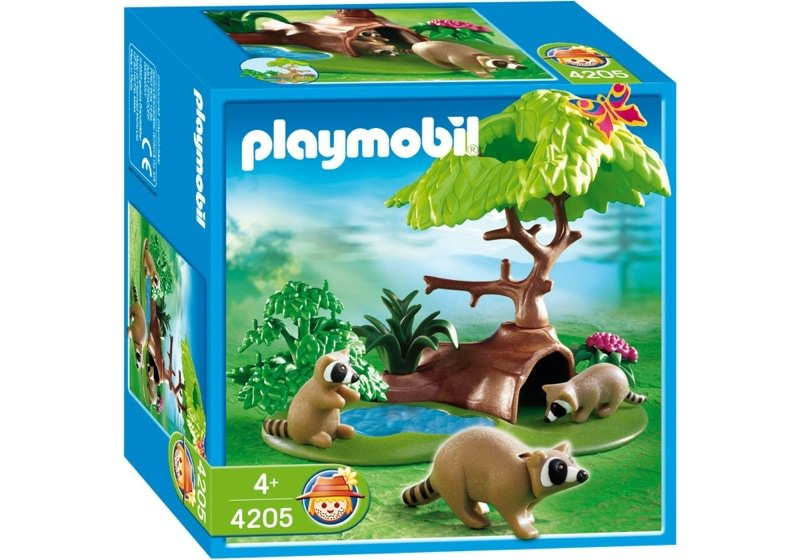 Playmobil 4205 - Raccoons - Box