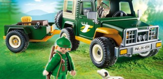 Playmobil - 4206 - Forest Truck