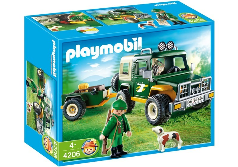 Playmobil 4206 - Forest Truck - Box