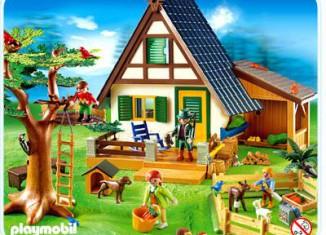 Playmobil - 4207 - Forsthaus mit Tierpflegestation