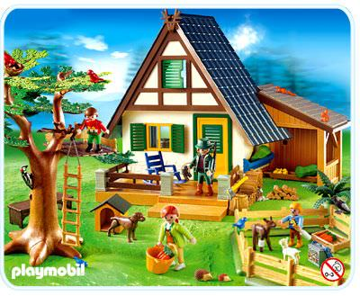 playmobil set 4207 forest lodge klickypedia