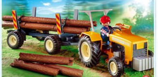 Playmobil - 4209 - Logger's Tractor