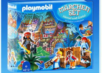 Playmobil - 4212 - Hansel and Gretel Fairy Tale Set