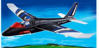 Playmobil - 4215 - Hand-Launch Glider Jet Team