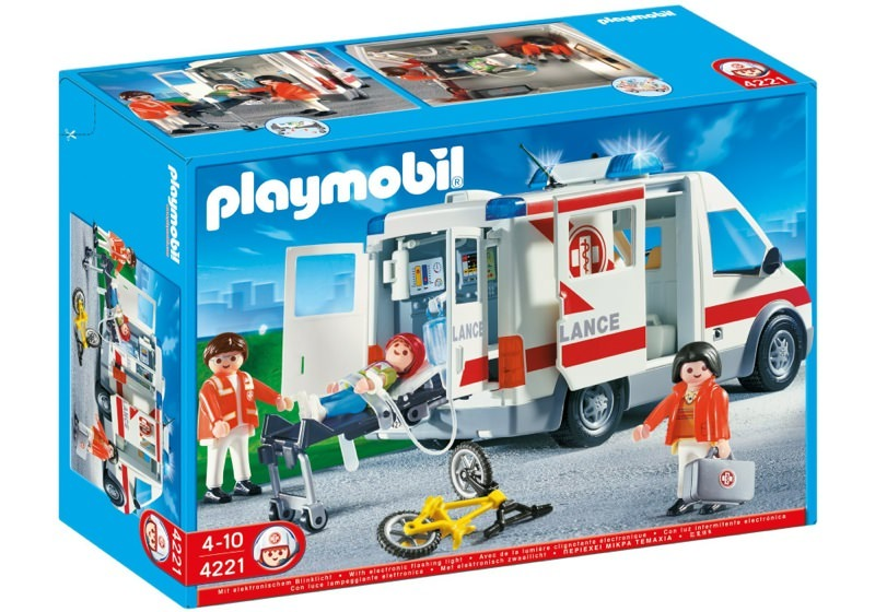 Playmobil 4221 - Ambulance - Box