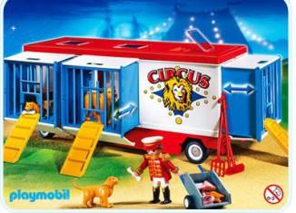 Playmobil - 4232 - Mr Loyal & wild animals trailer