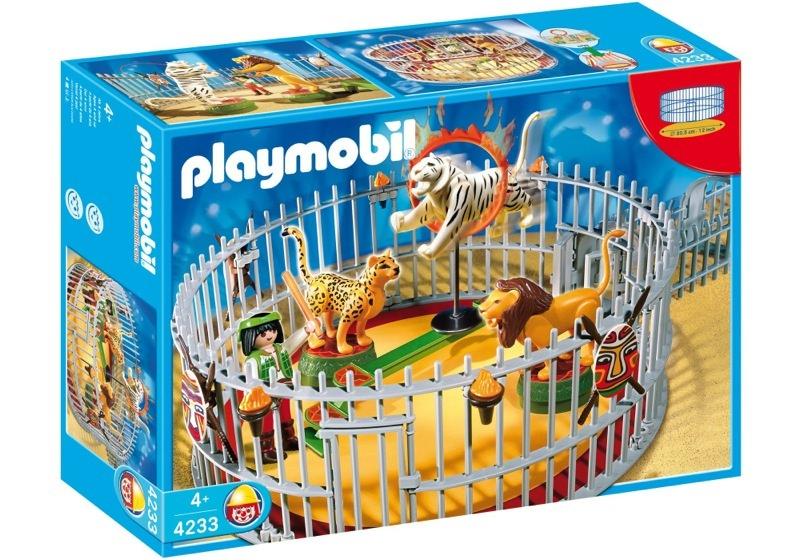 Playmobil 4233 - Wild animals trainer - Box