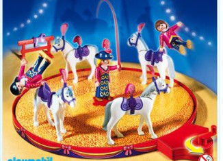 Playmobil - 4234 - Flyers with horses & riding school