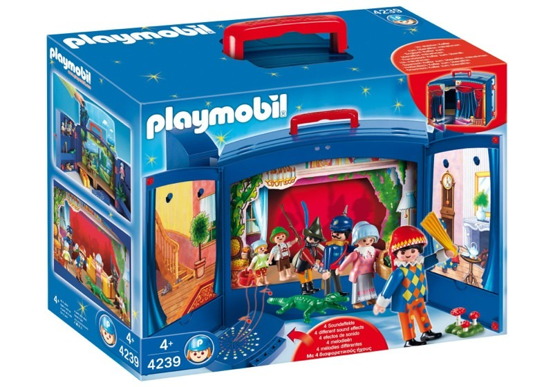 Playmobil 4239 - My Take Along Puppet Theater - Box