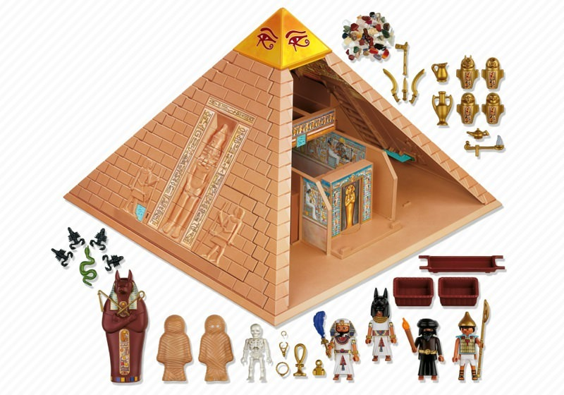 Playmobil 4240 - Pyramid - Back