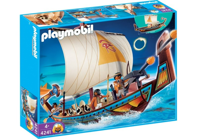Playmobil 4241 - Royal Ship of Egypt - Box