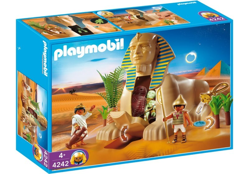 Playmobil 4242 - Sphinx with Mummy - Box