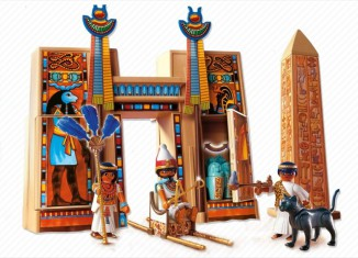 Playmobil - 4243 - Pharaon et pylône de temple