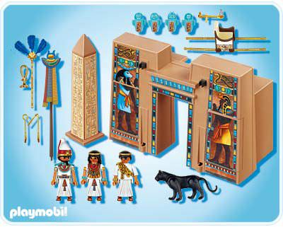 Playmobil 4243 - Pharaoh's Temple - Back