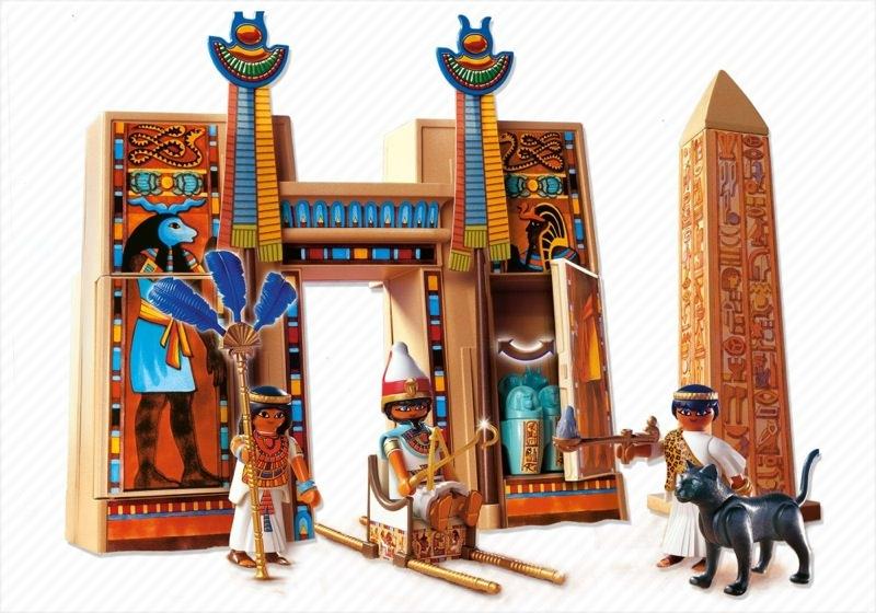 Playmobil set 4243 pharaoh 39 s temple klickypedia - Playmobil egyptien ...