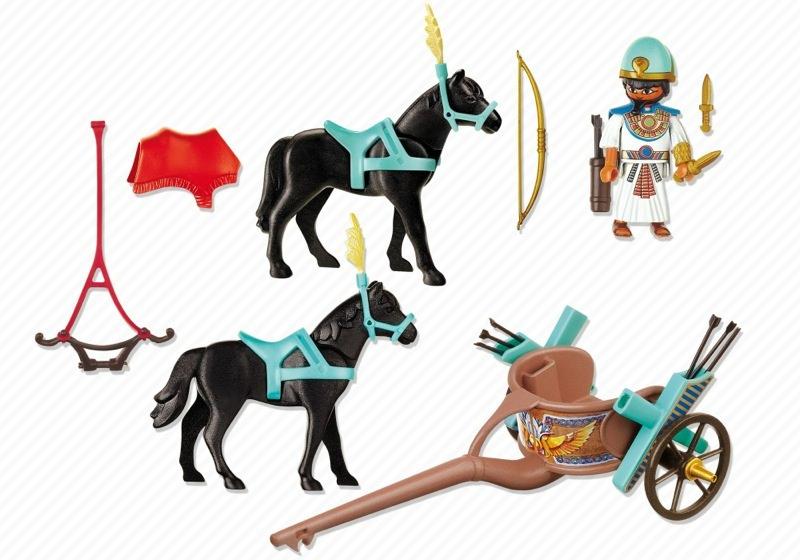 Playmobil 4244 - Egyptian Chariot - Back