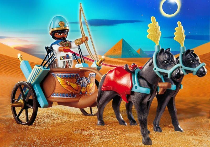 Playmobil set 4244 egyptian chariot klickypedia - Playmobil egyptien ...