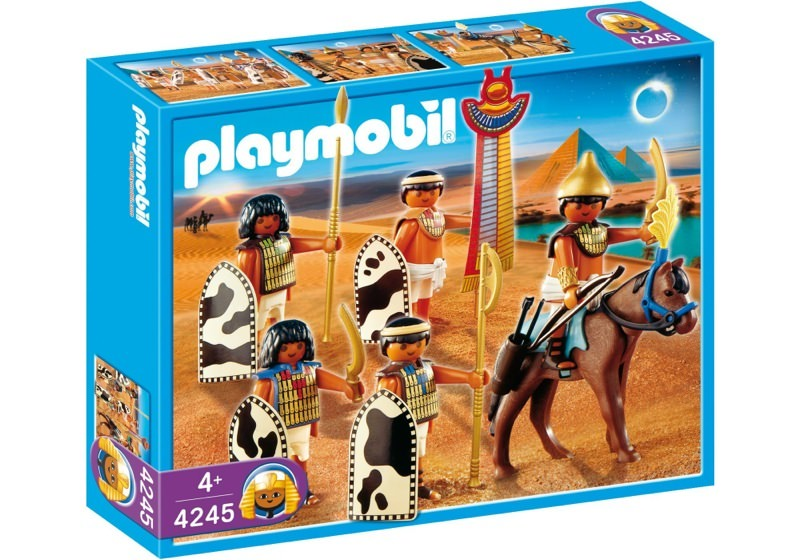 Playmobil 4245 - Egyptian Soldiers - Box