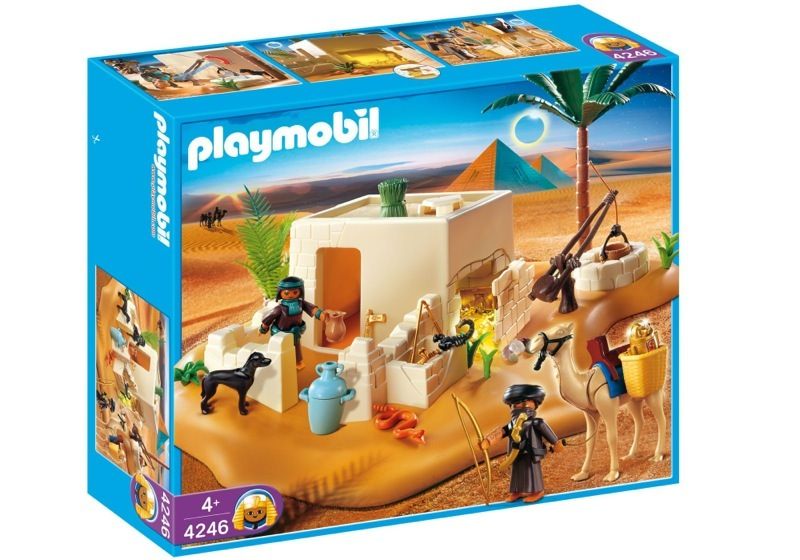 Playmobil 4246 - Pilleurs et cachette - Boîte