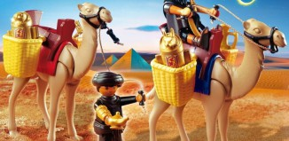 Playmobil - 4247 - Two Robbers with Camels