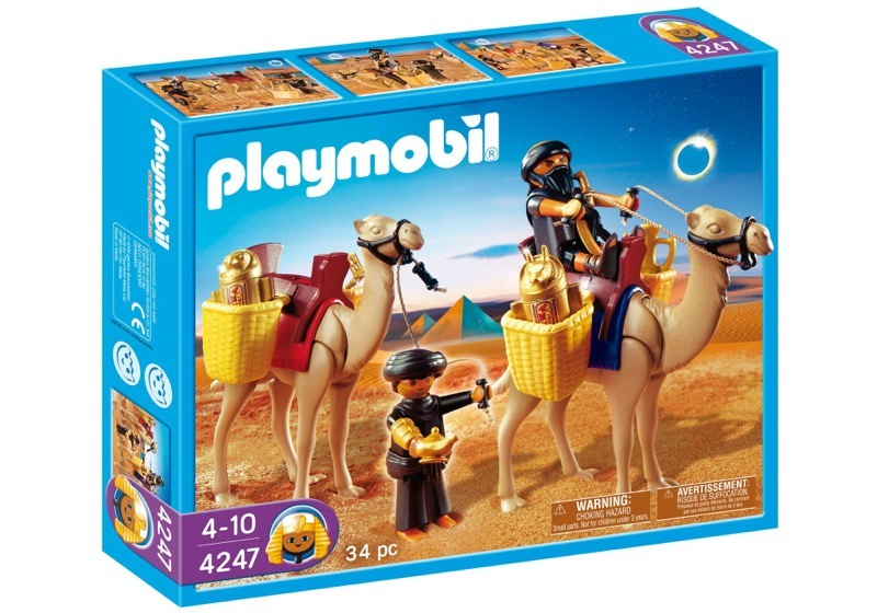 Playmobil 4247 - Two Robbers with Camels - Box